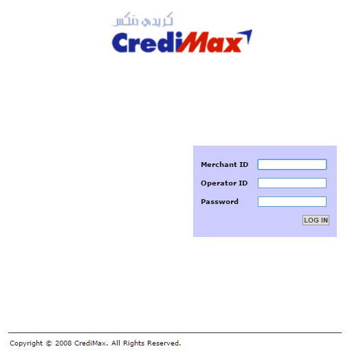 CrediMax console, Woocommerce CrediMax payment gateway