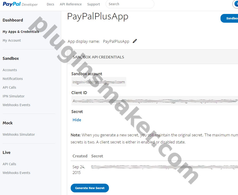 PayPal Plus for woocommerce